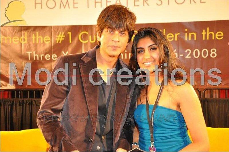 SRK & fan 2008