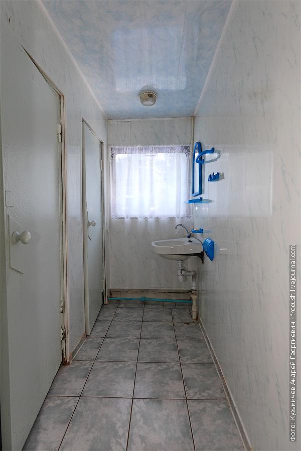 мужской туалет на средней палубе теплохода «Башкортостан»