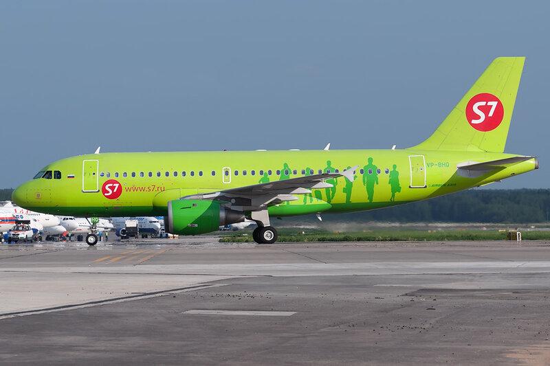 Airbus A319-114 (VP-BHQ) S7 DSC0530