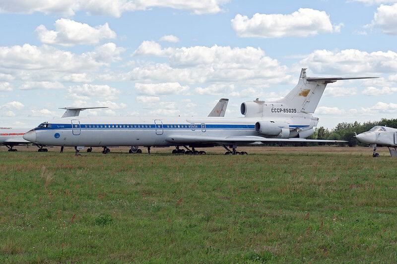 Туполев Ту-155 (СССР-85035) DSC_1386