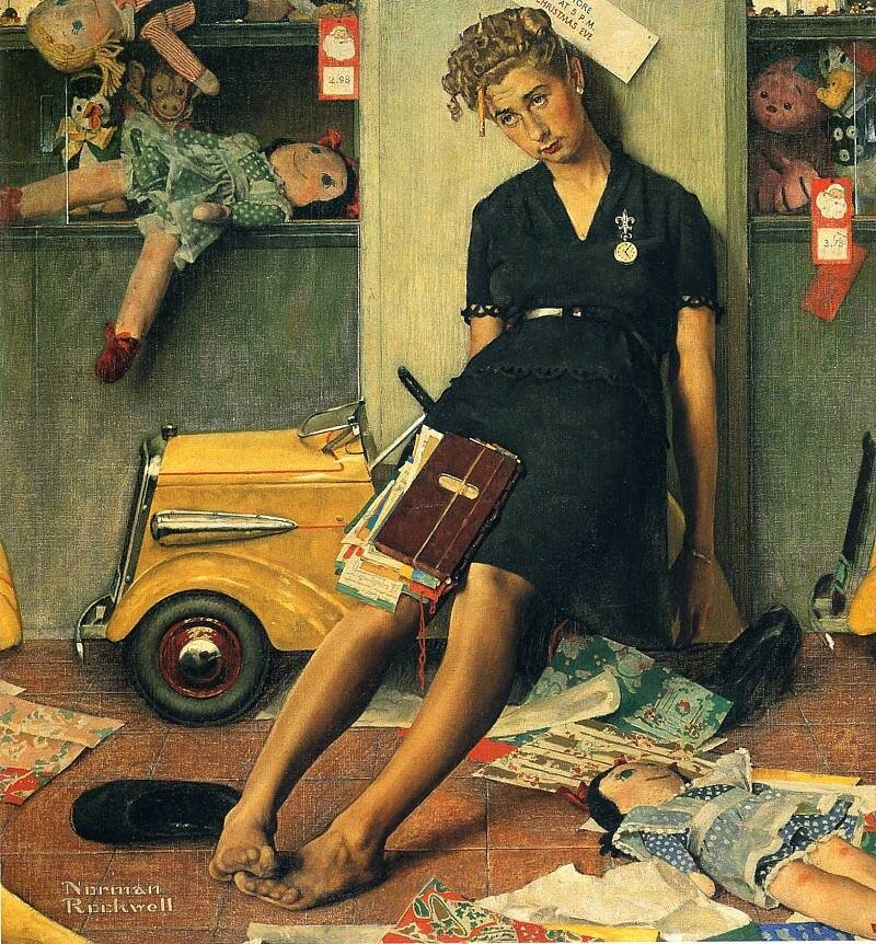 the life and works of norman rockwell Norman rockwell thought of himself first and foremost a commercial illustrator hesitant to consider it art, he harbored deep insecurities about his work what is.