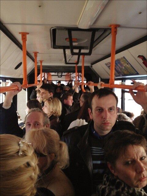 Маршрутный автобус №100 в Минске
