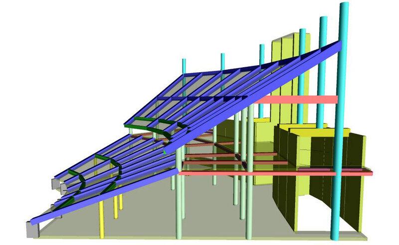 Стадион «Спартак»: Компьютерное моделирование (Фото)