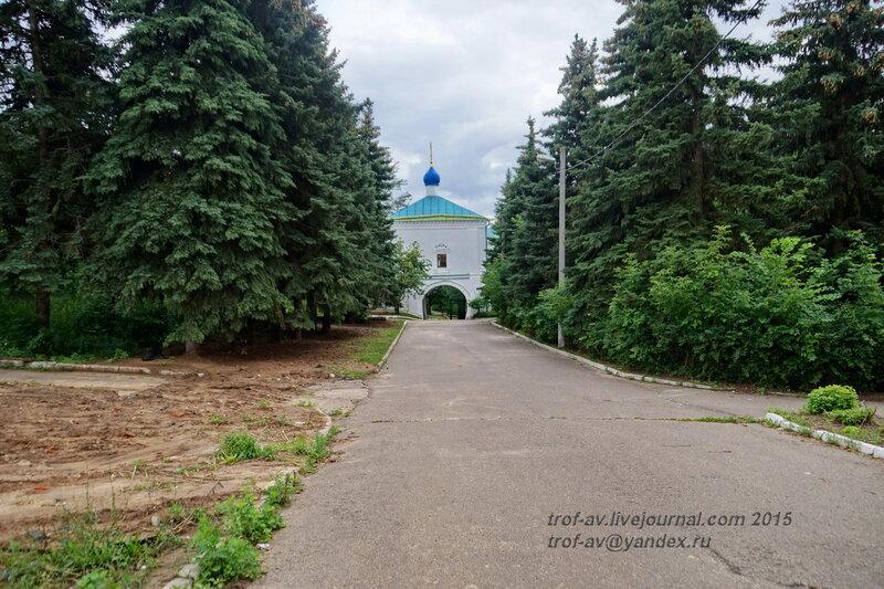 Церковь Иконы Божией Матери Иверская (Тихона Амафунтского), Казанский Воскресенский Новоиерусалимский мужской монастырь