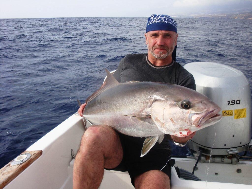 Канарские острова рыбалка с берега