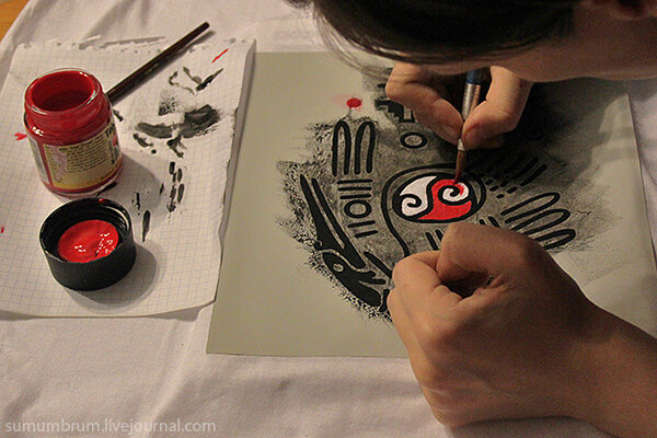 Как в домашних условиях нанести рисунок на зеркало в домашних условиях