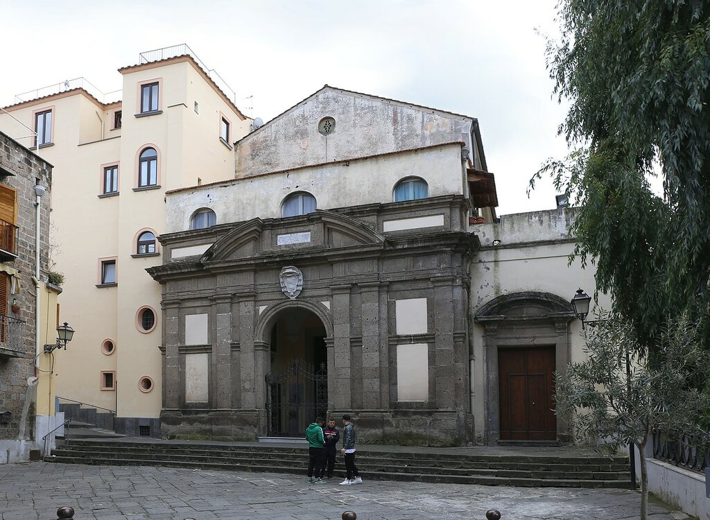 Sorrento. Church Of The Annunciation(Chiesa della SS. Annunziata)