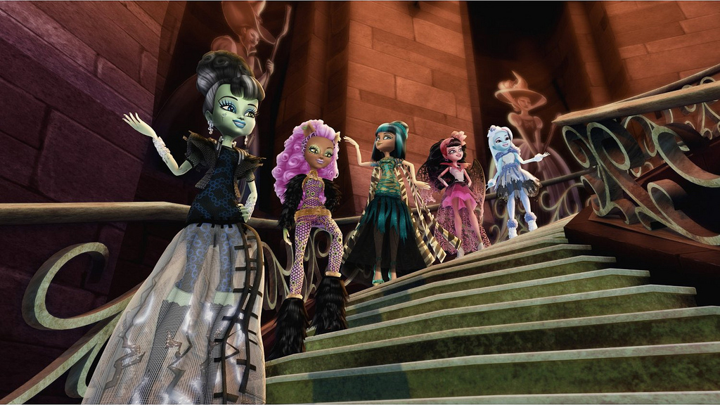 Картинки кукол монстер хай смотреть онлайн