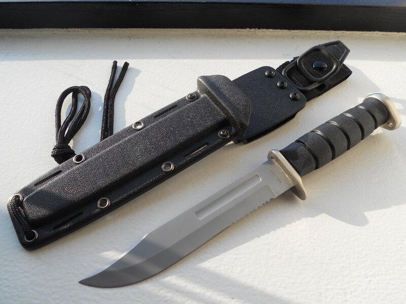 Покрытие лезвия ножей ka-bar нож бенчмейд кехлер