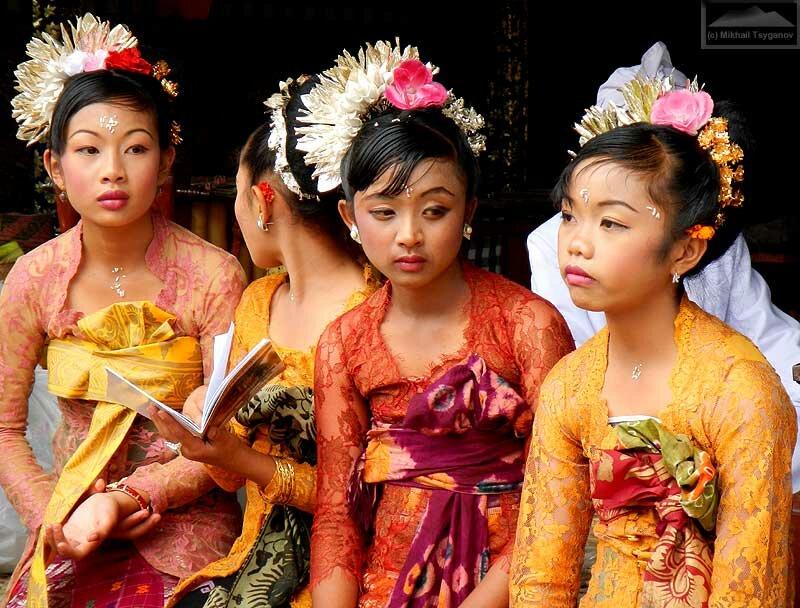 Люди Бали
