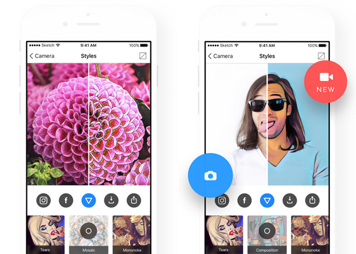 Prisma стала приложением года поверсии Apple