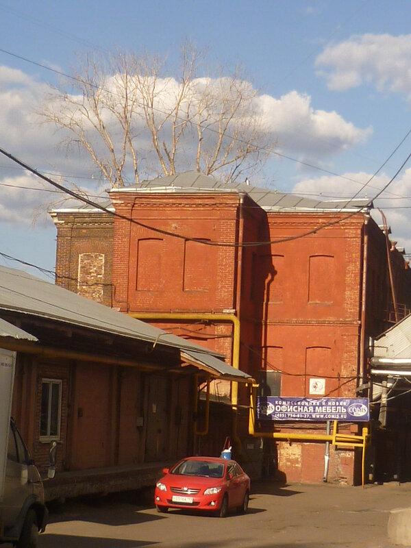 Старое фабричное здание по адресу Большая Почтовая, 34, стр. 5