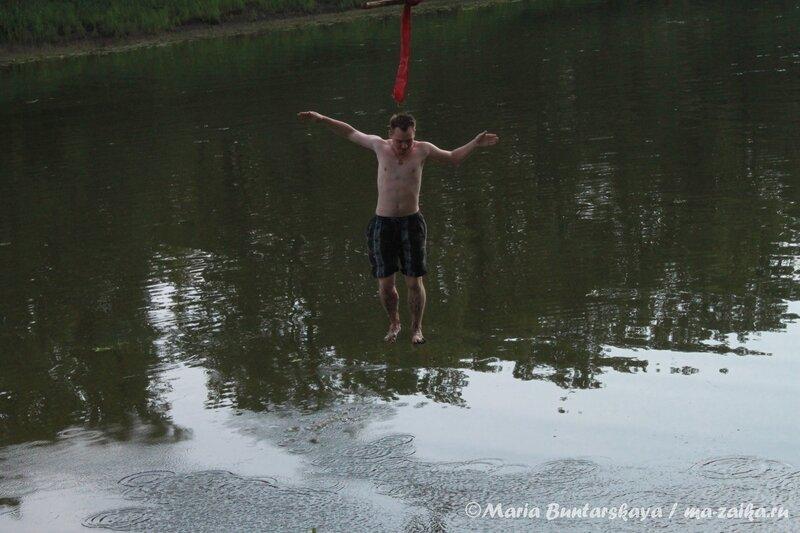 Оу е, тарзанка! Фёдоровские луга, 06 июля 2012  года