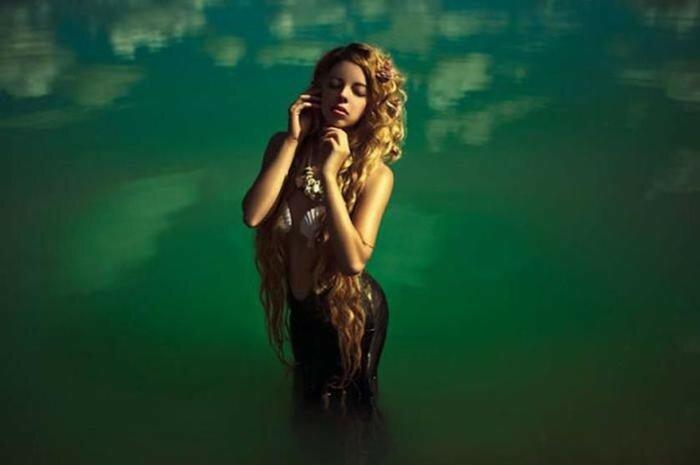 Каролина Риволова. Волшебные портреты девушек-богинь на фоне природы