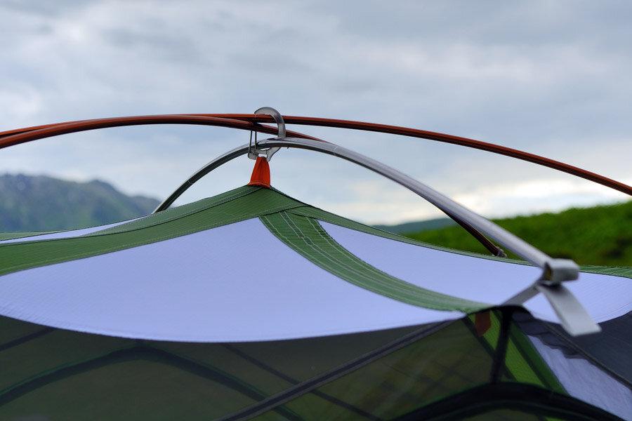 Обзор палатки Mountain Hardware Skyledge 2.1