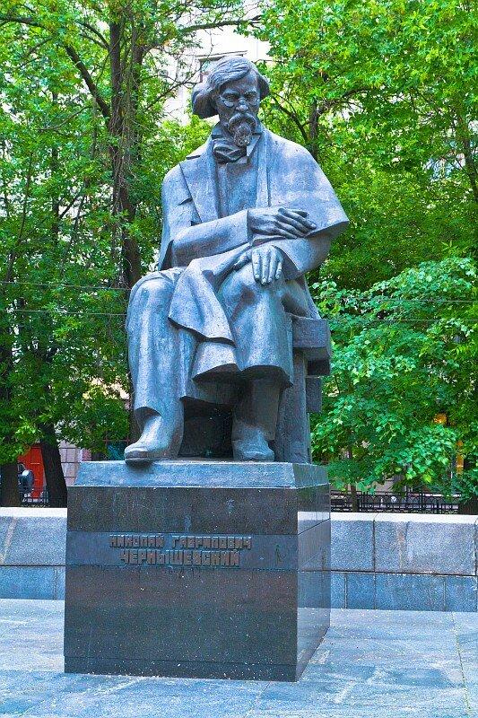 Памятник философу Николаю Гавриловичу Чернышевскому