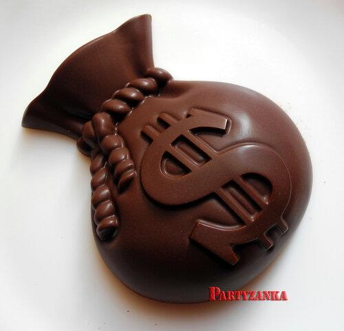 шоколадный мешочек