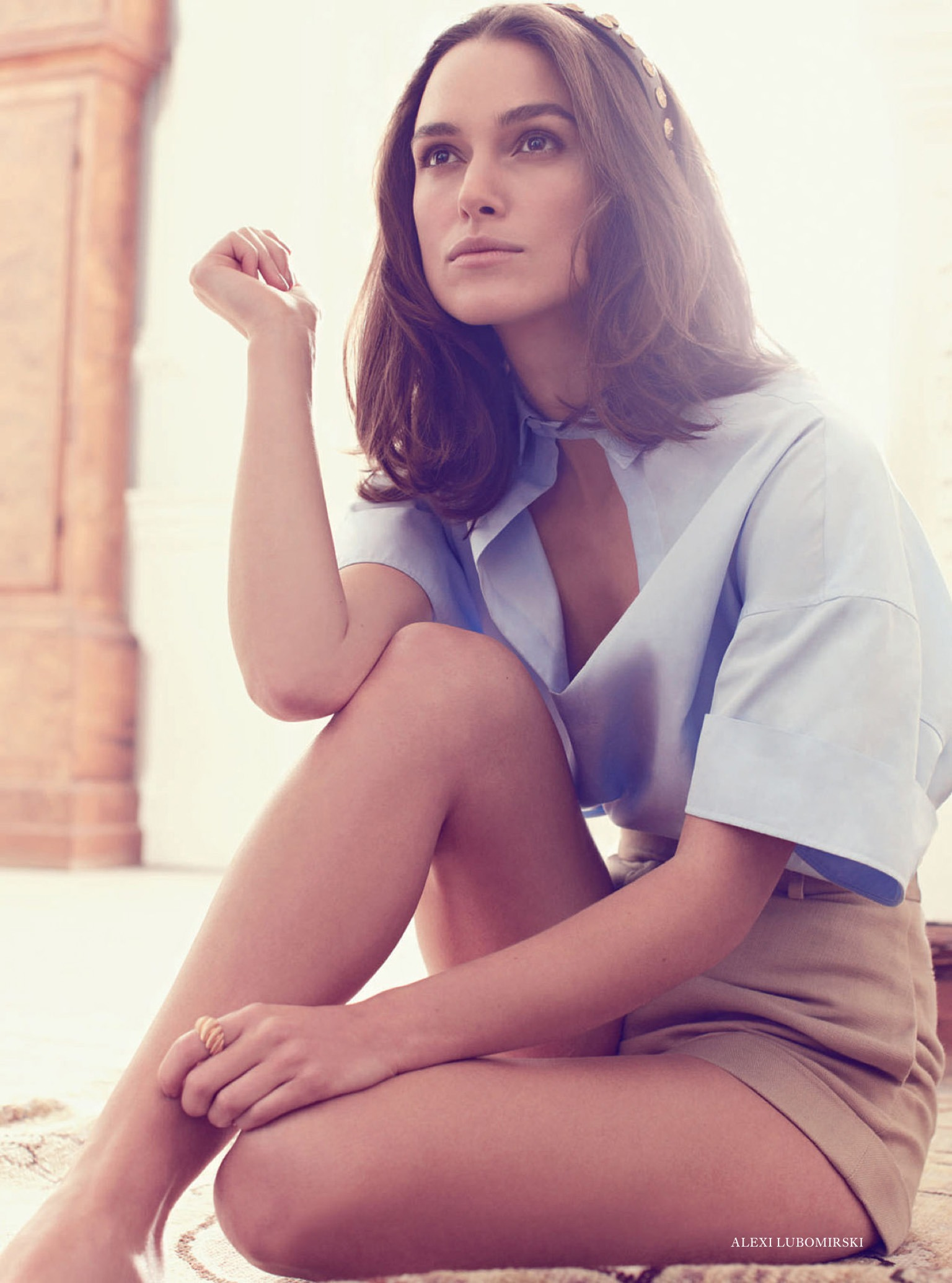 Кира Найтли (Keira Knightley) - Harper's Bazaar (Великобритания) Февраль 2014