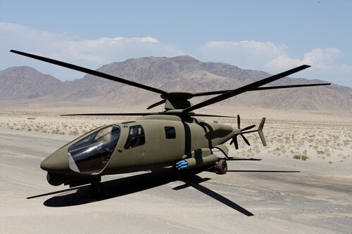 Sikorsky X2 Technology Light Tactical Helicopter mockup