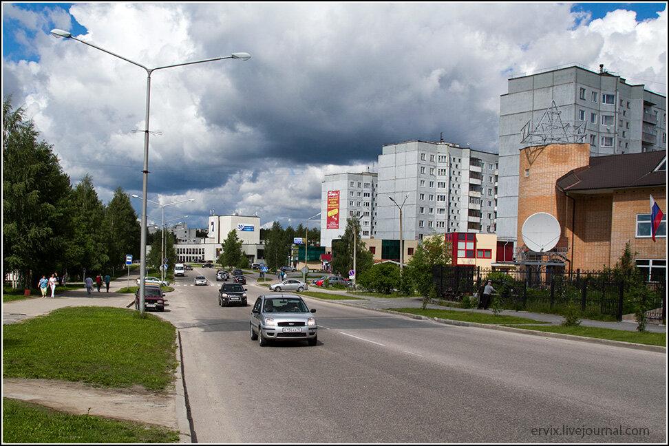 Улица в Костомукше