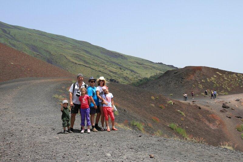 Сицилия, Этна- кратерыСильвестри