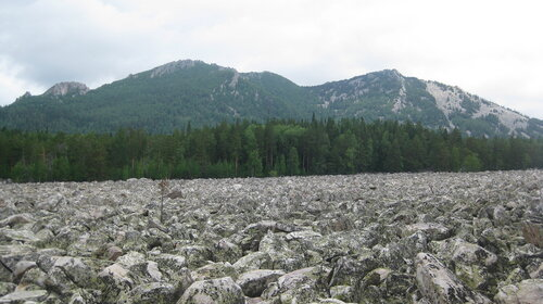 Панорама Двухглавой сопки
