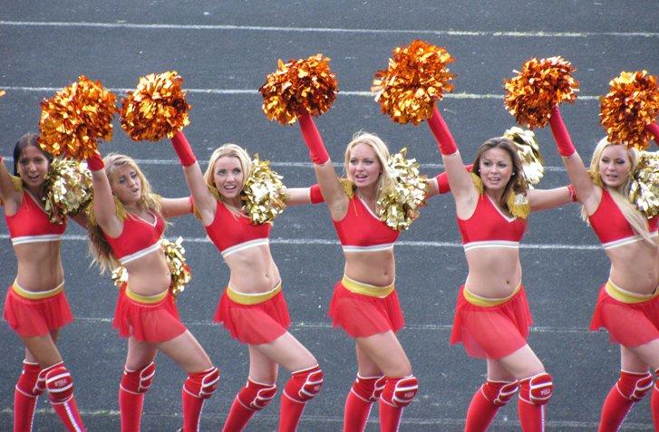 cheerleaders - Чемпионат Украины по американскому футболу Kiev Bandits vs Slavs / 24 июня 2012