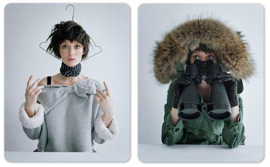 Audrey Marney / Одри Марно в рекламной кампании модного бренда O-2nd, осень 2011 / фотограф Tim Walker