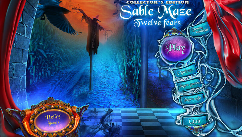 Sable Maze: Twelve Fears CE