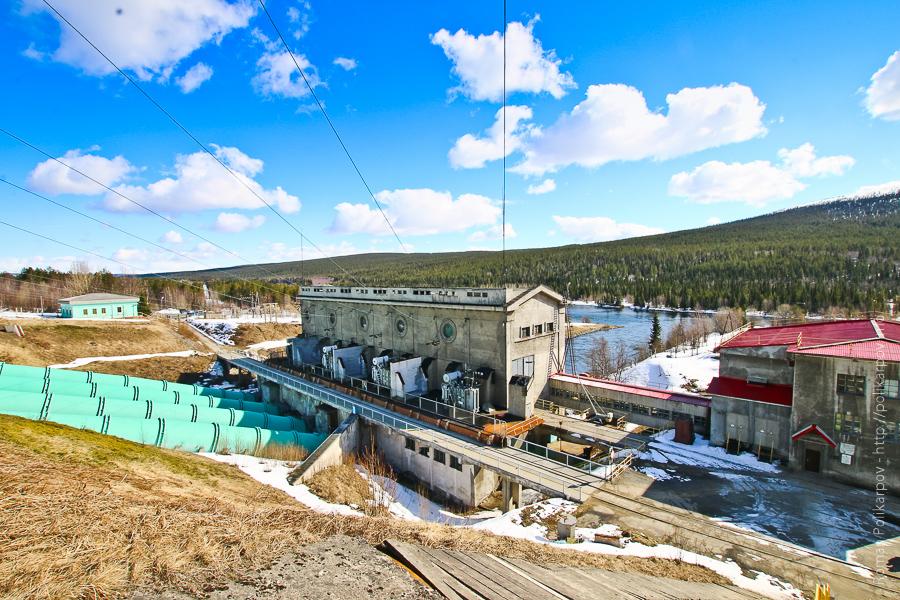 0 cc924 77b7e5a3 orig Нива ГЭС 2   первая станция в Мурманской области