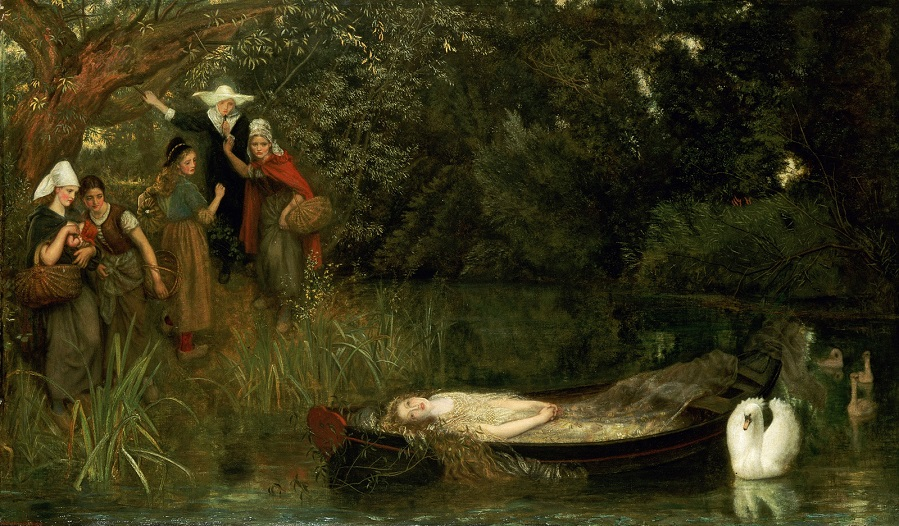 1858 Леди Шалот (The Lady of Shalott)