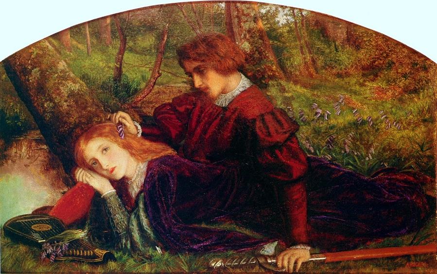 1860 Рыцарь Герент и Энида (The Brave Geraint)