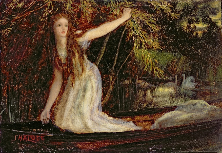 Леди Шалот (The Lady of Shalott).