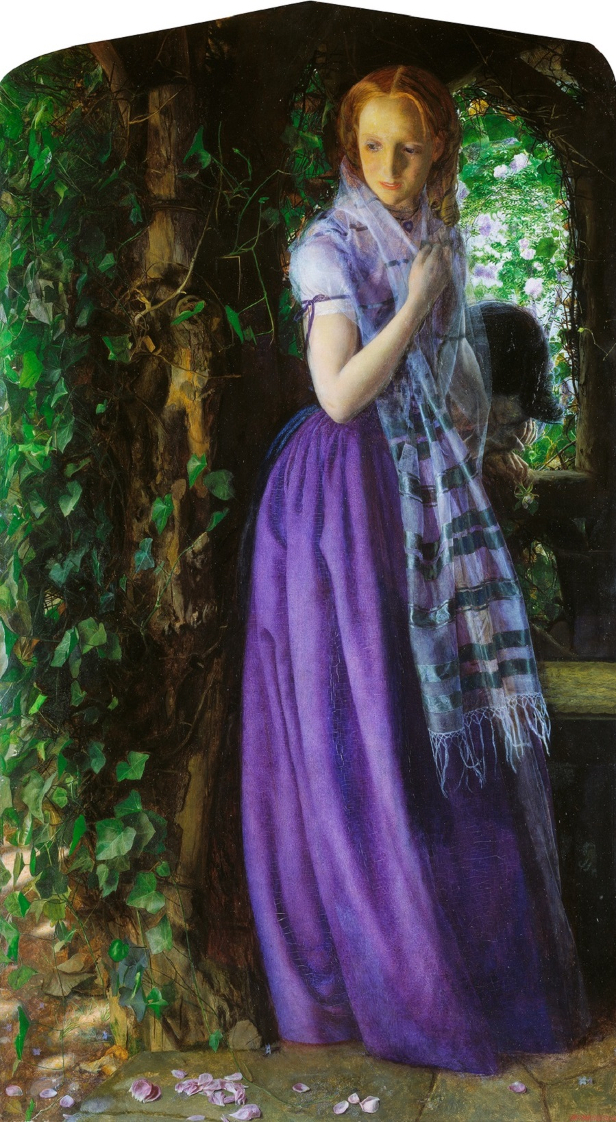 1855 (ок) Апрельская любовь (April Love) Лондон, Музей Тейт.