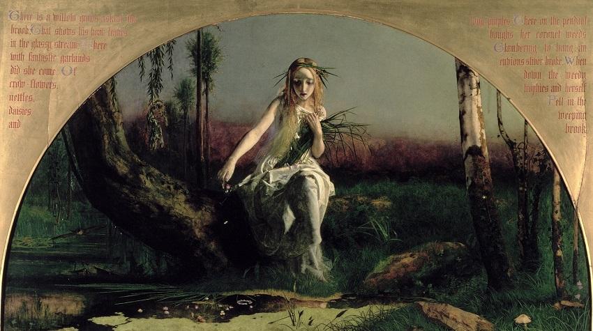 1851-1853 Офелия (Ophelia) Манчестер, Художественная галерея
