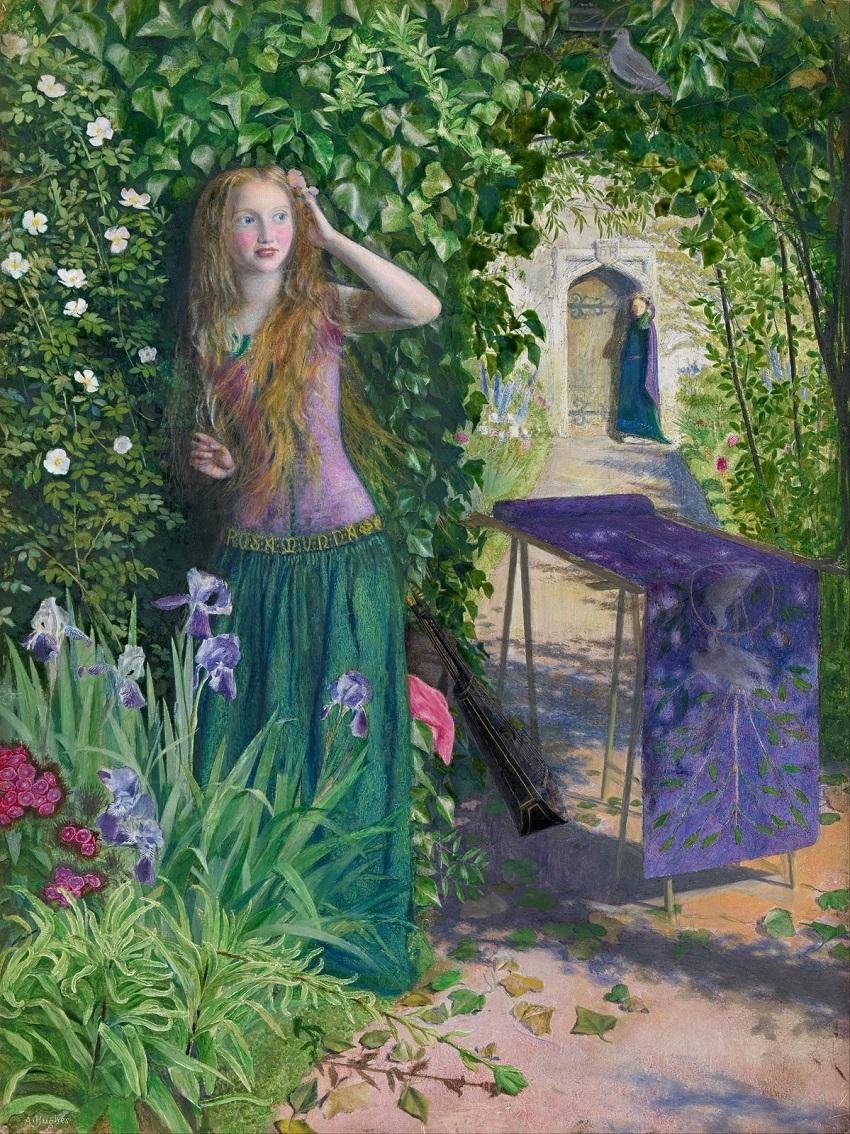 1854 Прекрасная Розамунда (Fair Rosamund) Мельбурн, Национальная галерея Виктории