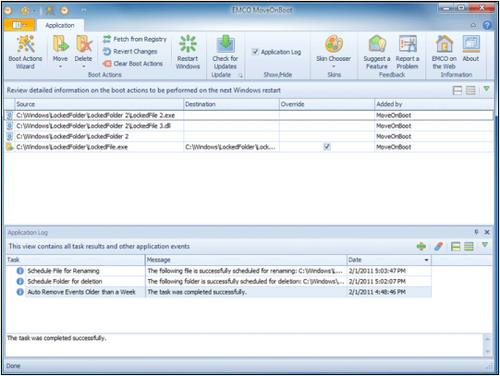удаление заблокированных файлов