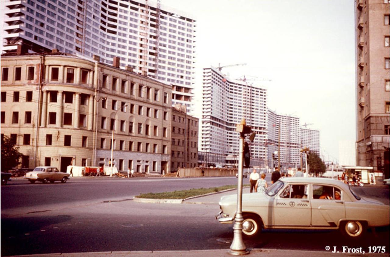 1975. Калининский проспект в Москве