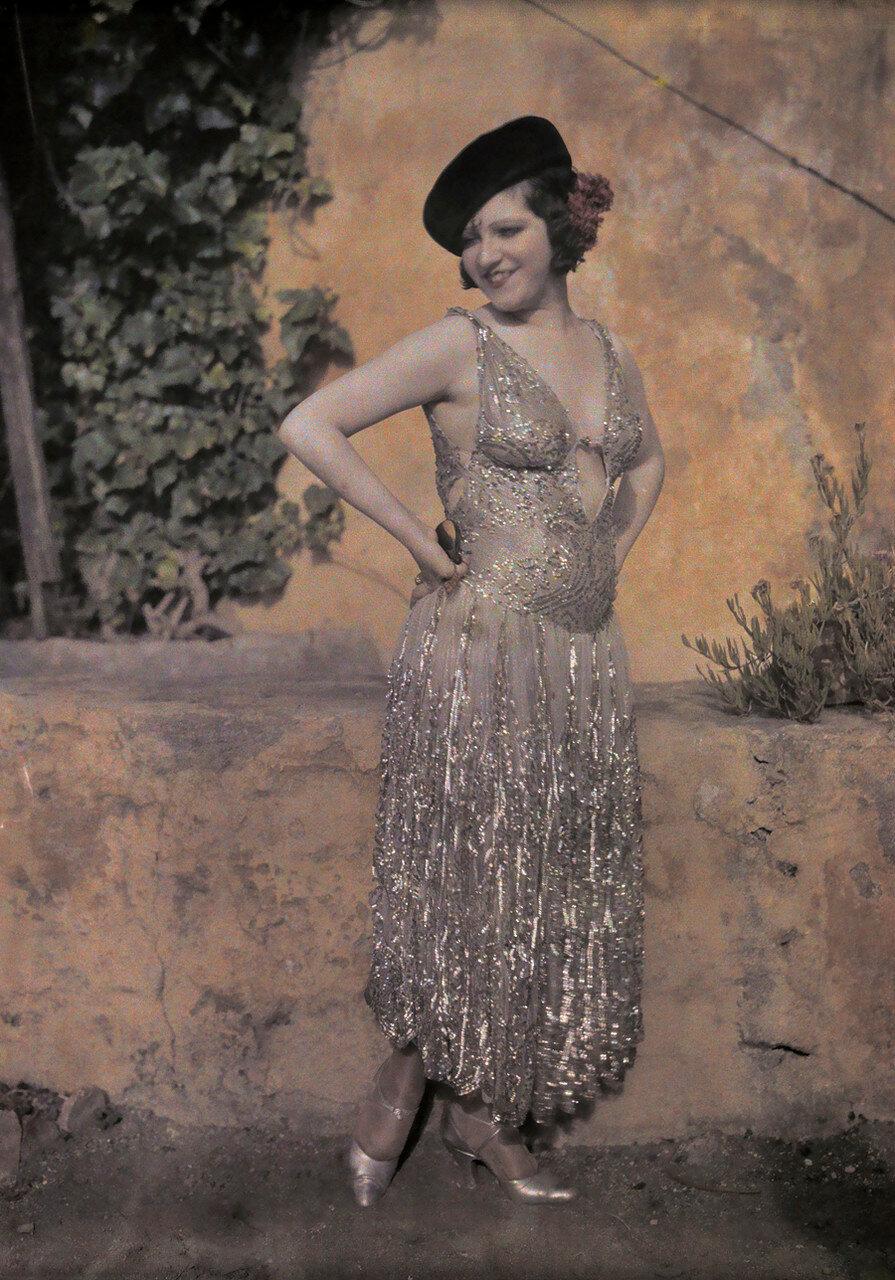 1930-е. Испанская танцовщица