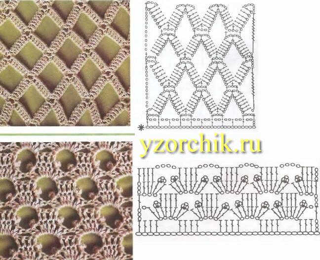 www.mastera-rukodeliya.ru. филейное вязание узоры. в коллекцию.  Загружено 1 месяц и 7 дней назад с.