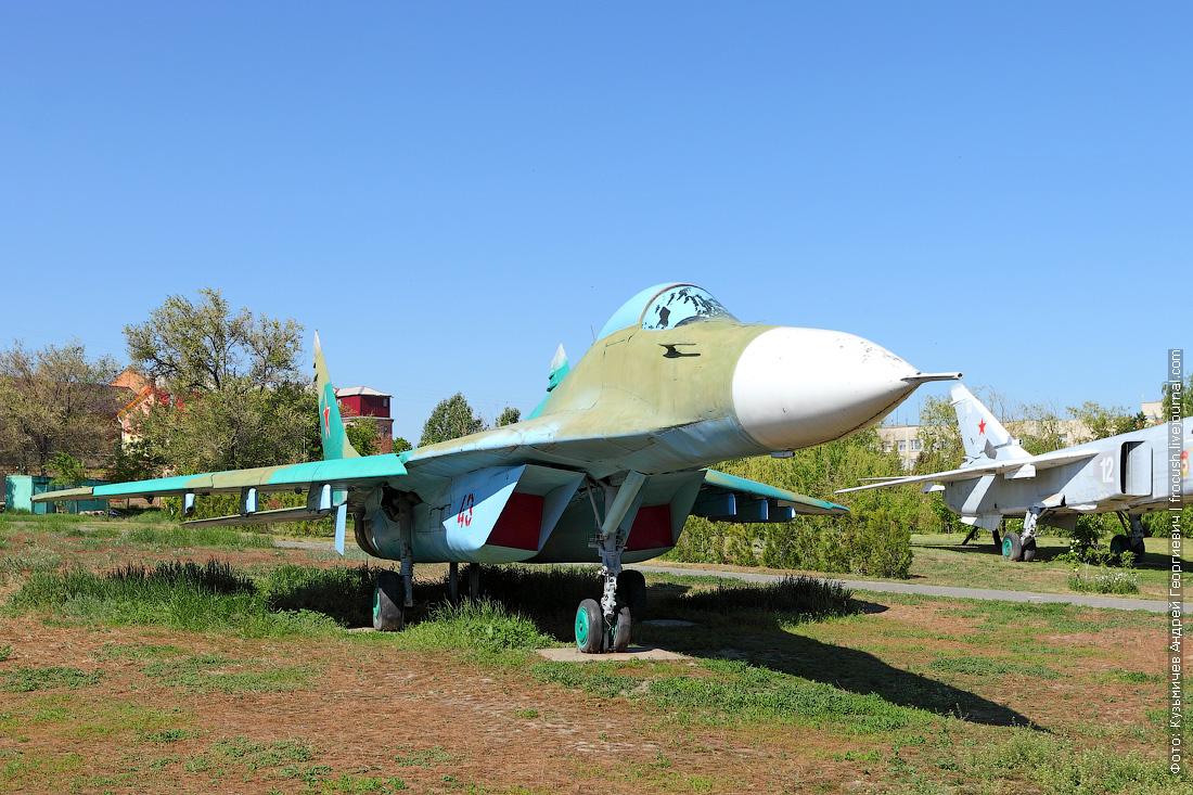 Истребитель МиГ-29 круиз на теплоходе Русь Великая