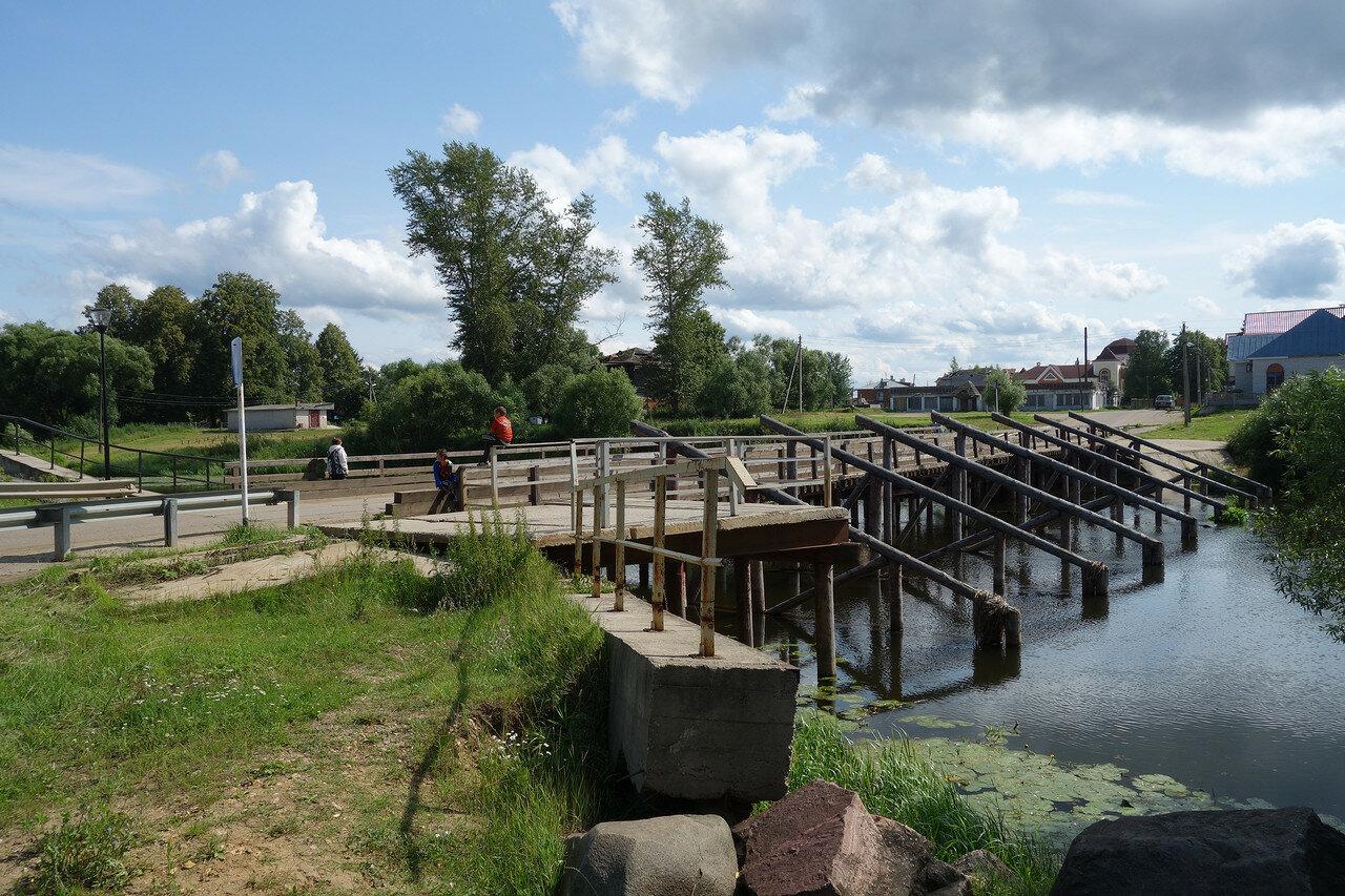 мост через р. Теза
