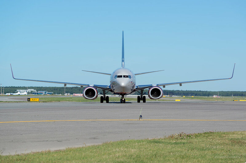 Boeing 737-8LJ (VP-BRR) Аэрофлот D800644