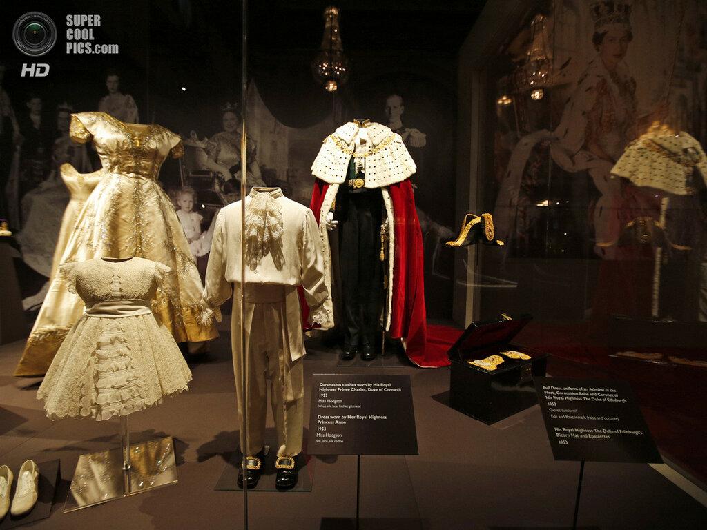 Britain Queen's Coronation Exhibition