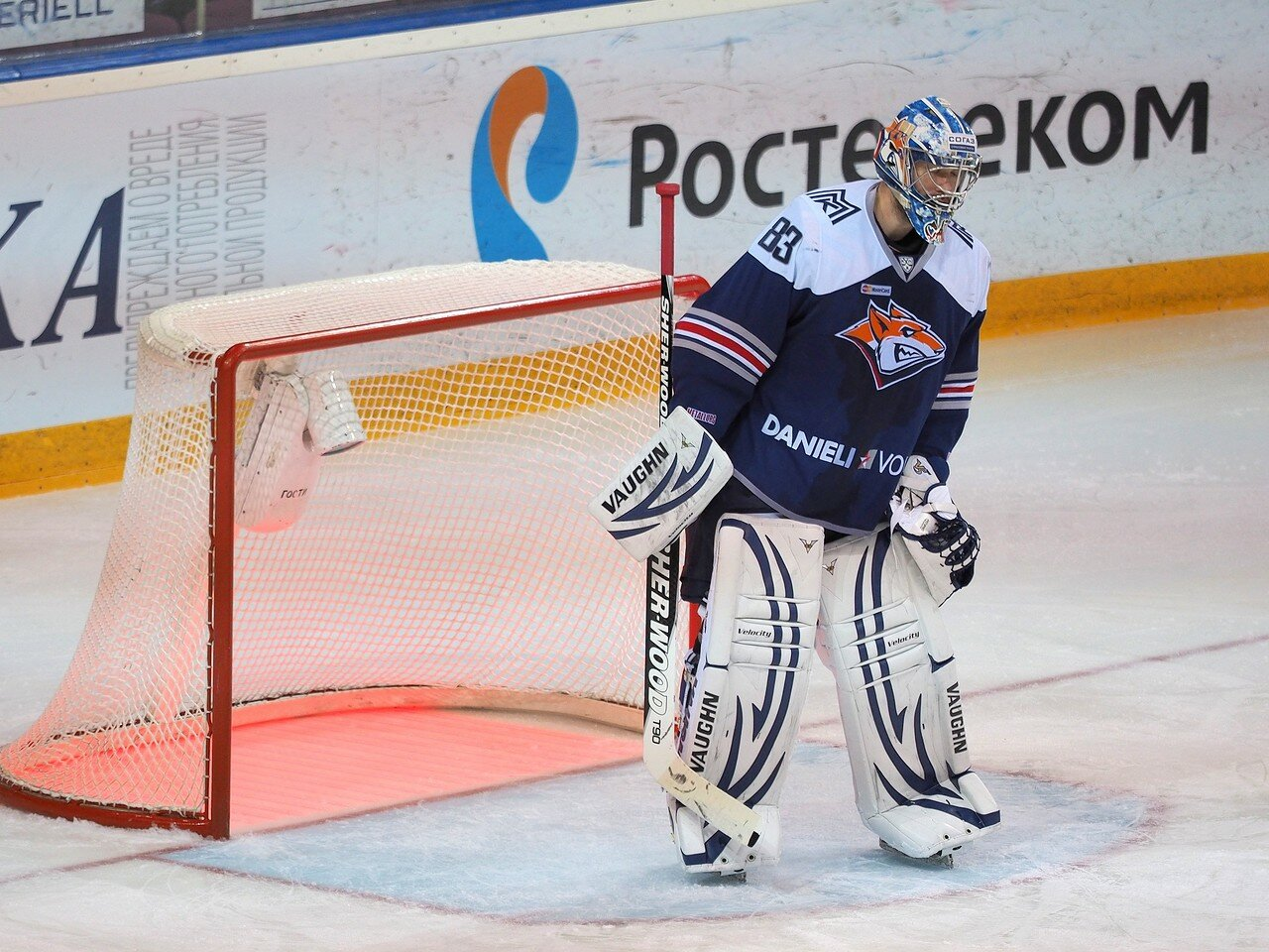 91Восток 1/2 плей-офф Металлург - Сибирь 08.03.2016