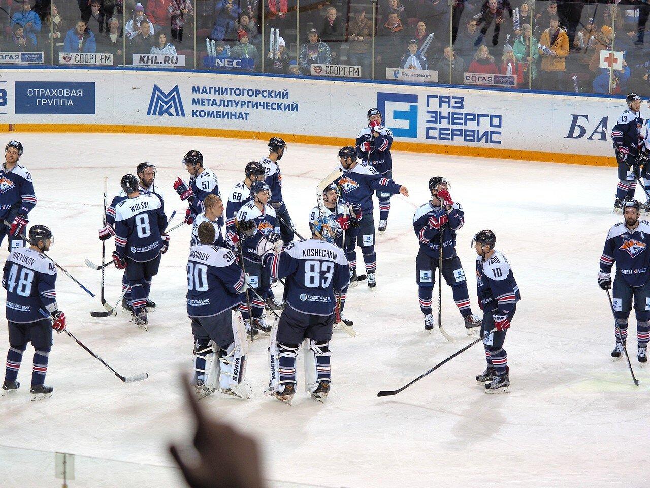 93Плей-офф 2016 Восток 1/2 Металлург - Сибирь 16.03.2016