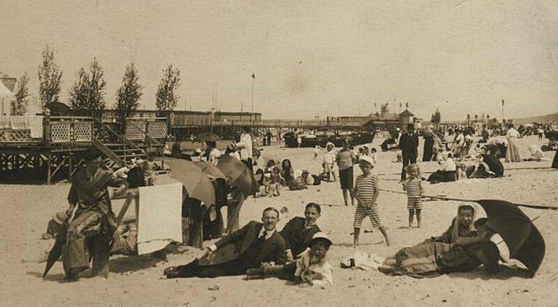 Рижский пляж. 1910-е годы..jpg