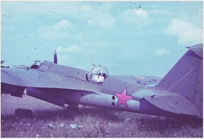 Аэродром Псков: СБ в цвете