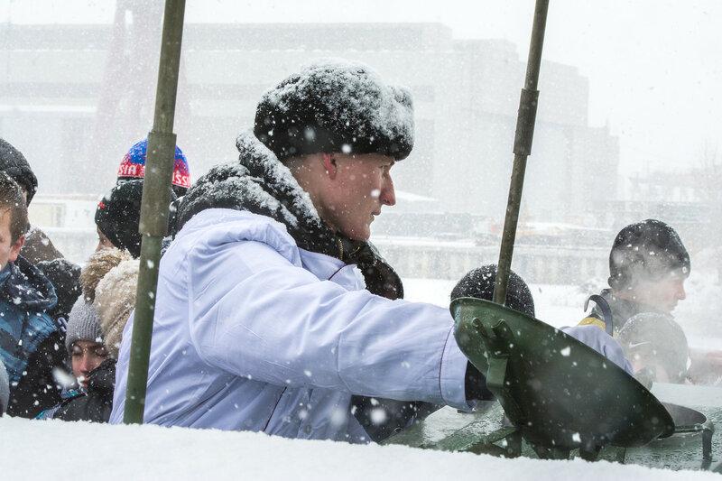 На Каспийской флотилии прошла акция «Есть такая профессия – Родину защищать!»