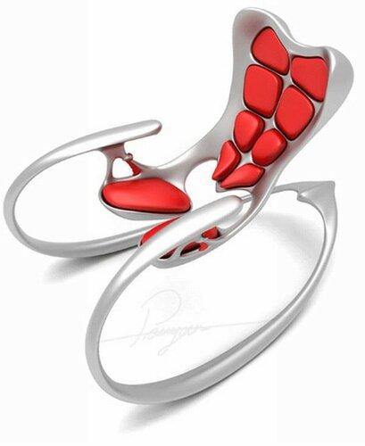 Кресло качалка необычной формы